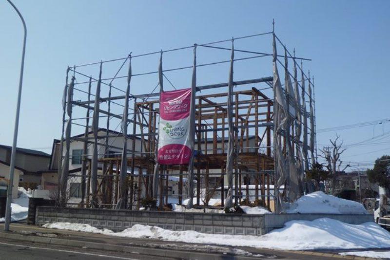 5月下旬 札幌市厚別区で開催 構造見学会のお知らせ