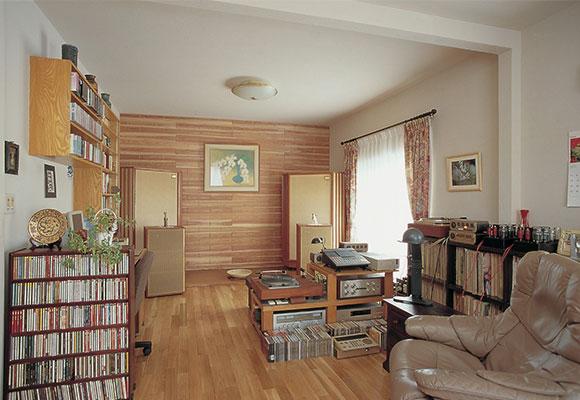 三世代同居から、プライバシーを尊重した完全分離の二世帯へ リノベーション 札幌 注文住宅 工務店 ハウスメーカー