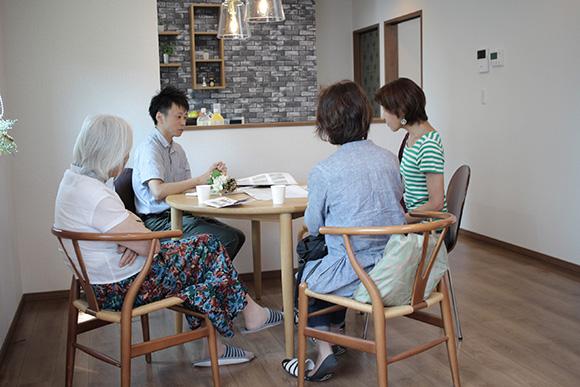 完成見学会ご来場のお礼と8月5日、6日のお知らせ(ライフスタイルとともに変化する家-第6回-)