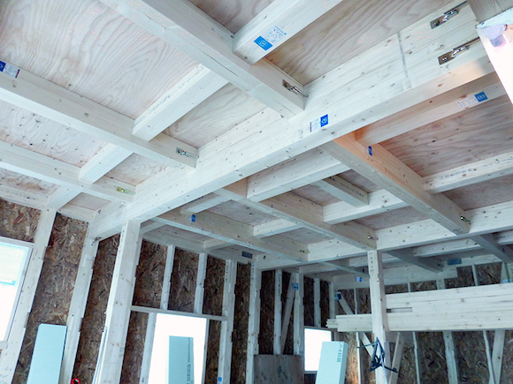 骨組みに使われる木材(構造木材)