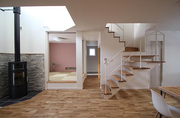 IOTでハイテク&薪ストーブでスローライフを楽しむ家・新築注文住宅・完成見学会