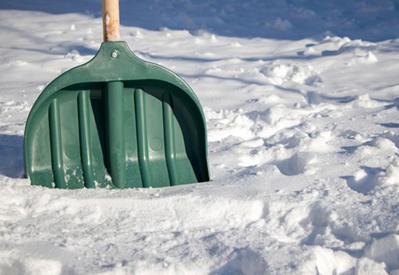 雪かきの季節