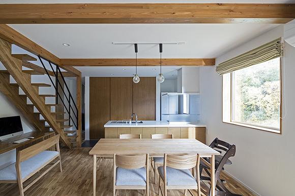 ほどよい自然が心地いい。忙しい心にゆとりをもたらす木の住まい 新築 札幌 注文住宅 工務店 ハウスメーカー