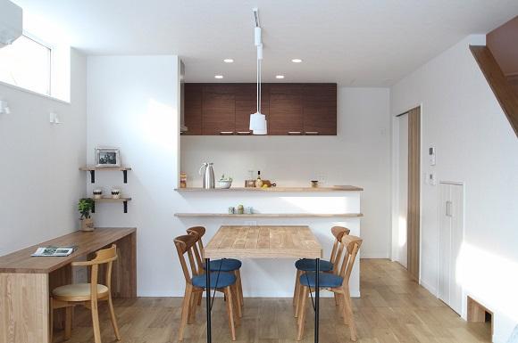 お施主様のスケッチを実現させた収納と回遊動線の家 新築 札幌 注文住宅 工務店 ハウスメーカー