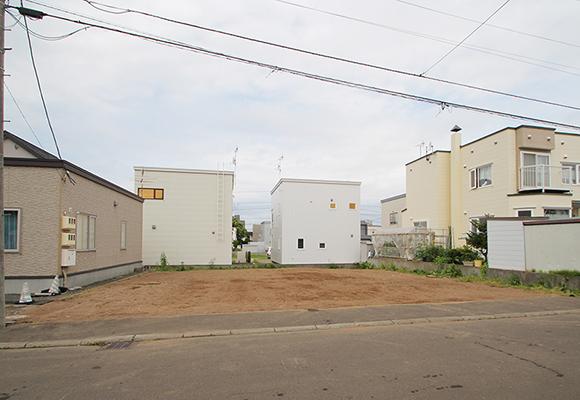 札幌市厚別区厚別南4丁目(売土地 1,980万円・新築用)