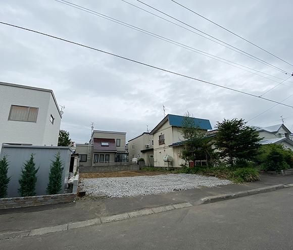 (new) 札幌市厚別区厚別南3丁目(売土地 1,950万円・新築用)