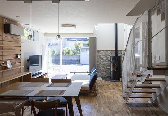 IoTと薪ストーブで、スローライフを軽やかに楽しむ 新築 札幌 注文住宅 工務店 ハウスメーカー