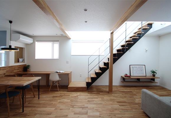 適材適所に収納がある35坪の家・新築完成見学会を開催致します。