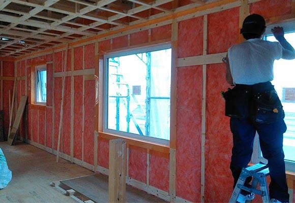 第2回 工事の様子(適材適所に収納がある35坪の家)