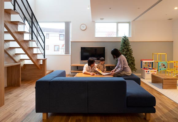 中庭のある、家族の笑顔と開放感があふれる家 新築・注文住宅完成見学会(現地orオンライン)