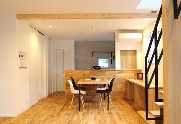 適材適所に収納がある35坪の家 住宅 新築 工務店 ハウスメーカー