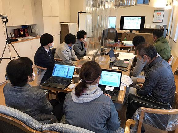協力業者会の勉強会を開催いたしました。