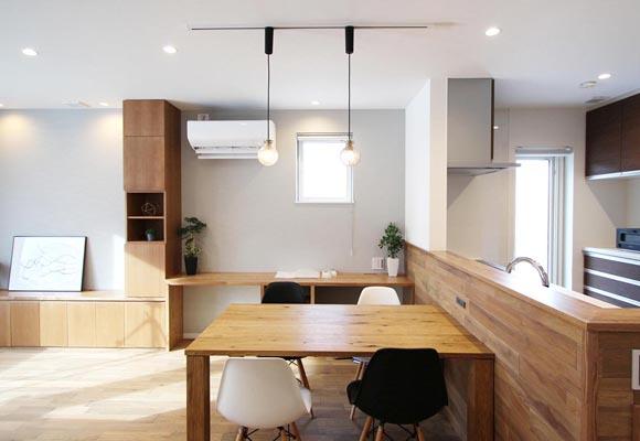 新築・施工事例を追加しました。(1Fに主寝室のある、ずっと住みやすい家)