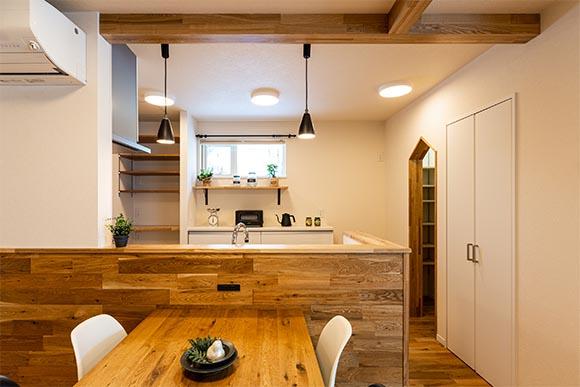 魅せる収納の時短家事な家 住宅 新築 工務店 ハウスメーカー