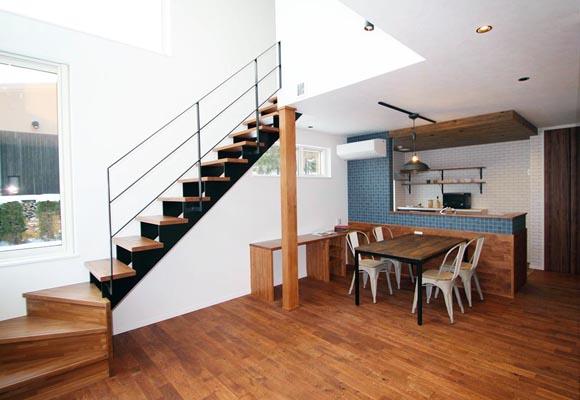 おしゃれも使い勝手も手に入れる、無骨カッコいい家 住宅 新築 工務店 ハウスメーカー