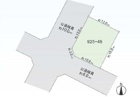 (new)札幌市厚別区上野幌2条5丁目17-33(売土地 2,190万円 ・新築用)