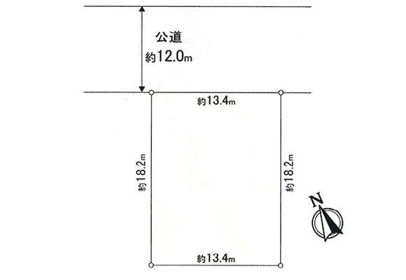 (new)北広島市西の里北5丁目7番12(売土地 1,790万円 ・新築用)
