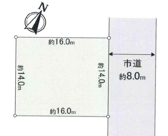 (new)北広島市青葉町1丁目(売土地 1,880万円 ・新築注文住宅用地)